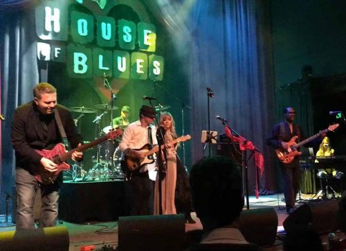 Gypsy Heartbreakers at the House of Blues Green lighting